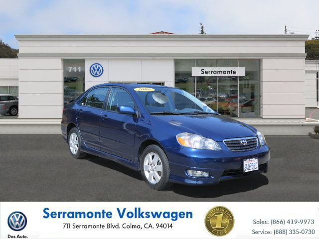2008 TOYOTA COROLLA S blue             diesel automatic no reasonable offer refused  must see