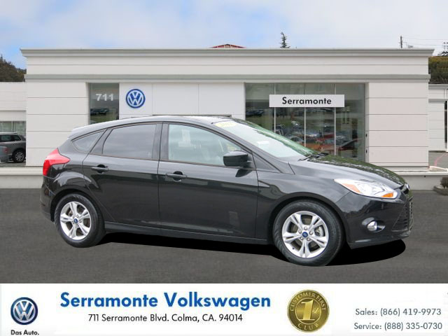 2012 FORD FOCUS SE HATCHBACK 4D black 20l dohc 16-valve i4 duratec engine manual california ca