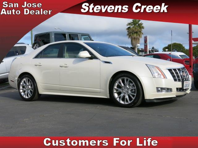 2012 CADILLAC CTS CTS white 36l v6 automatic leather  power windows  tilt wheel  amfm ster
