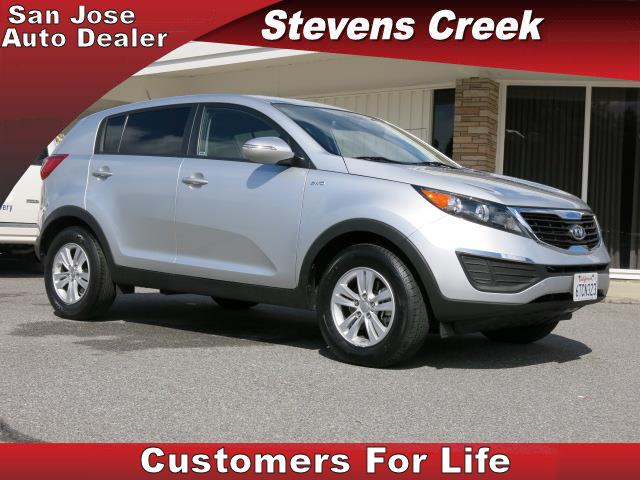 2011 KIA SPORTAGE SPORTAGE silver 24l dohc 16-valve i4 engine automatic power windows  tilt wh