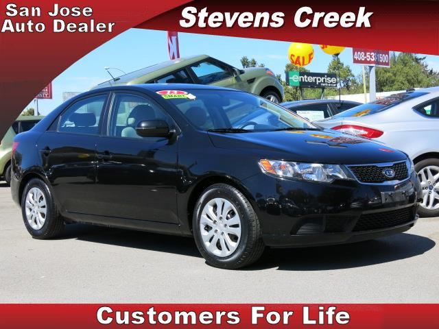 2013 KIA FORTE EX SEDAN black 4-cyl 20 liter automatic power windows  tilt wheel  amfm stere