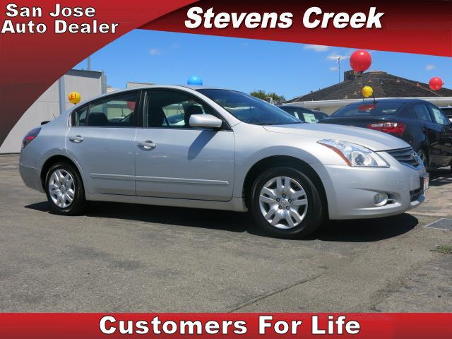 2012 NISSAN ALTIMA 25 S SEDAN silver 4-cyl 25 liter automatic power windows  amfm stereo  t