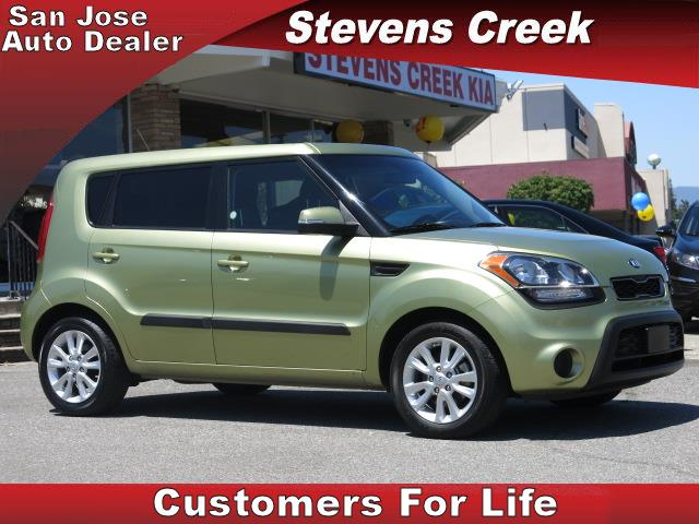 2013 KIA SOUL WAGON green 4-cyl 16 liter automatic power windows  tilt wheel  amfm stereo