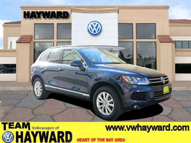 2013 VOLKSWAGEN TOUAREG SPORT UTILITY V6 TDI blue 30l v6 tdi dohc automatic power windows  pow